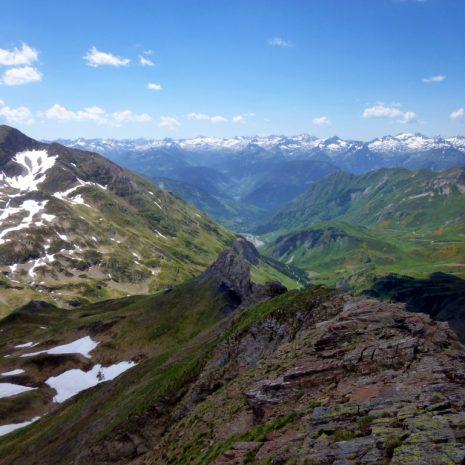 Panorama depuis le sommet du Tuc D'es Crabes.