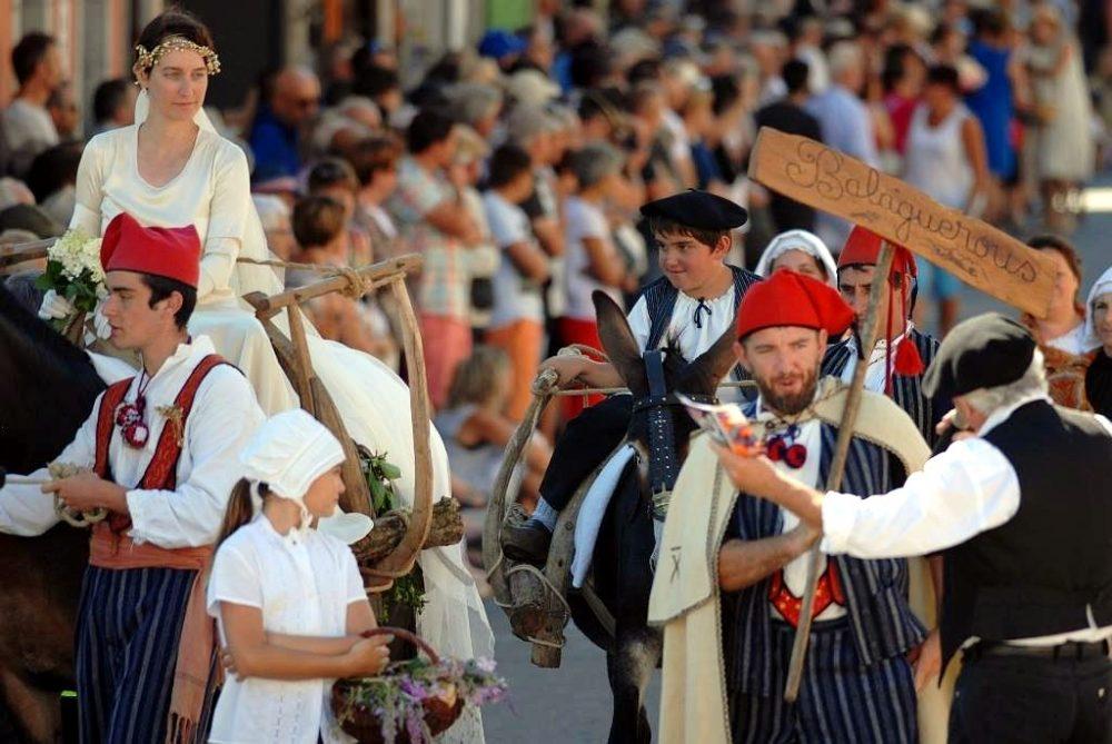 Les Balaguerous au défilé 2016 d'Autrefois le Couserans