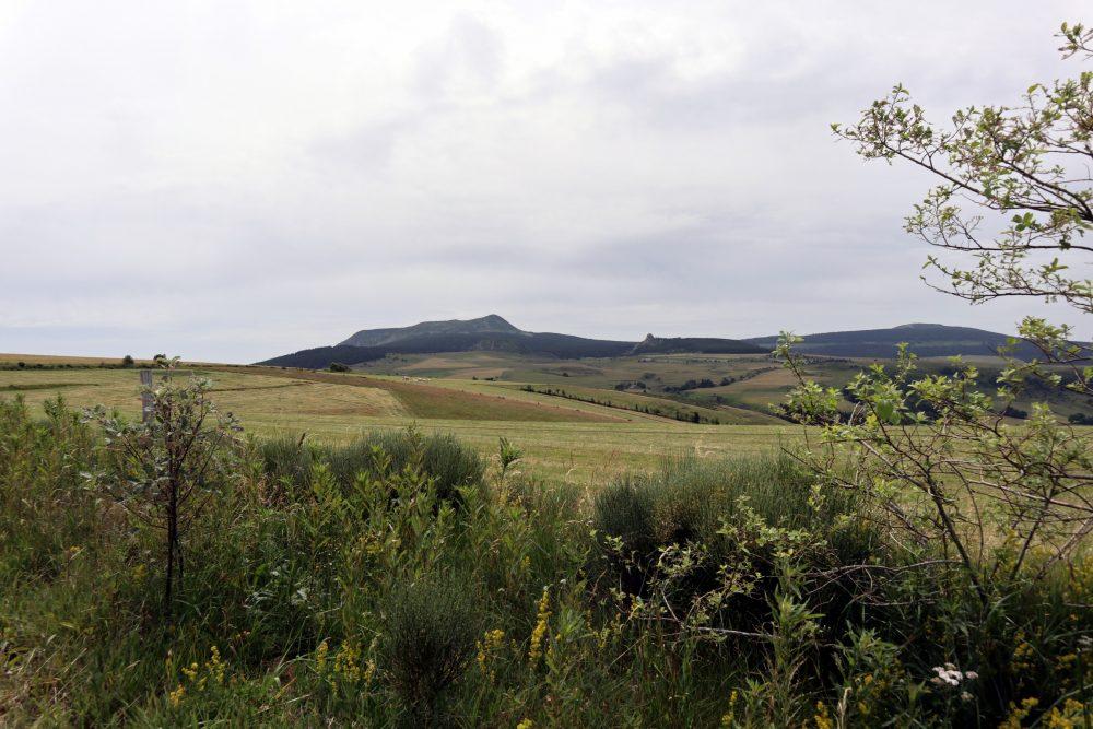 Panorama vers le Mont Mézenc